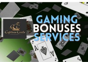Captain Cooks Casino gaming, bonuses and services